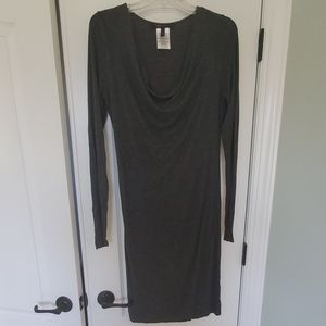 BCBG MAZAZRIA Grey Dress
